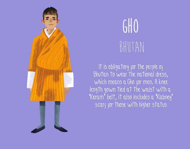 gho bhutan