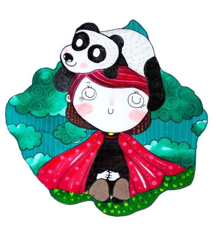 girl panda