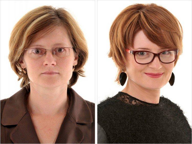 glasses makeover