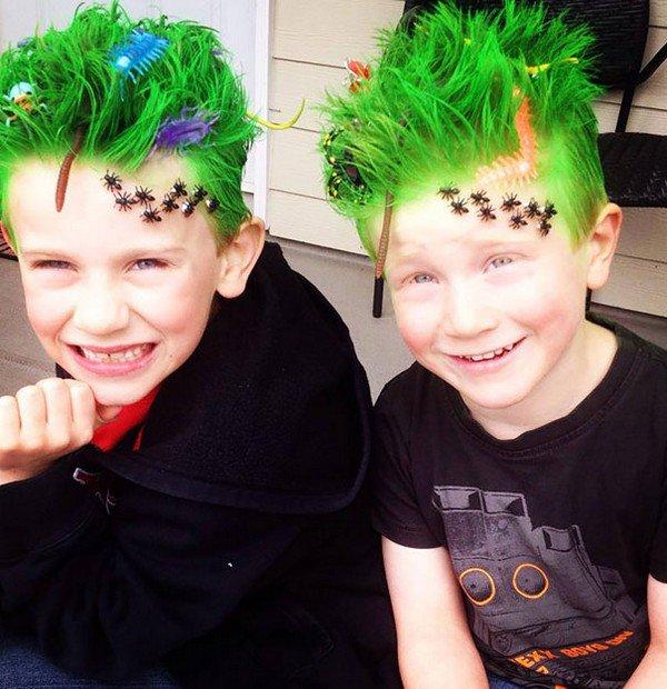 grass bugs hair