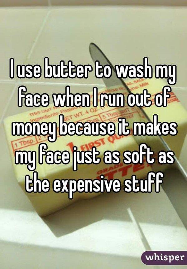 gross-life-hacks-butter