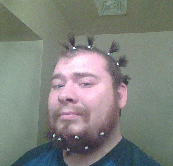 guy hair