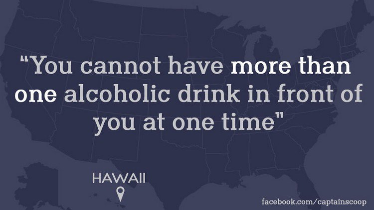 hawaii alcohol