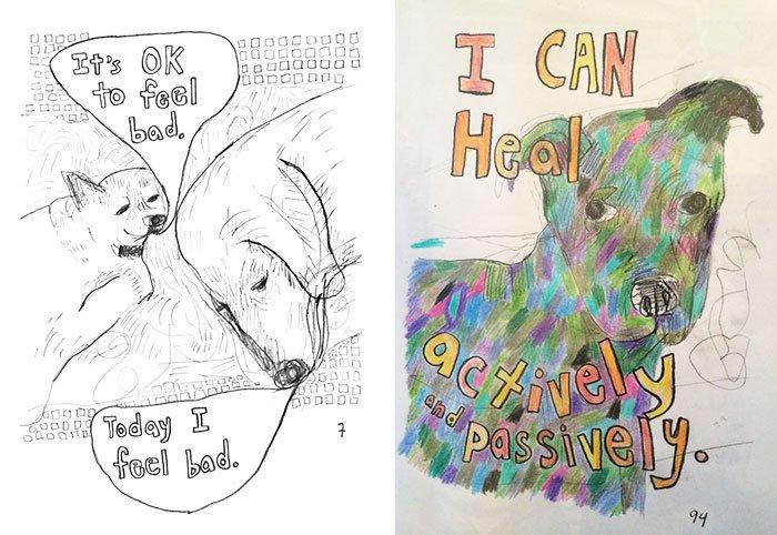 heal coloring