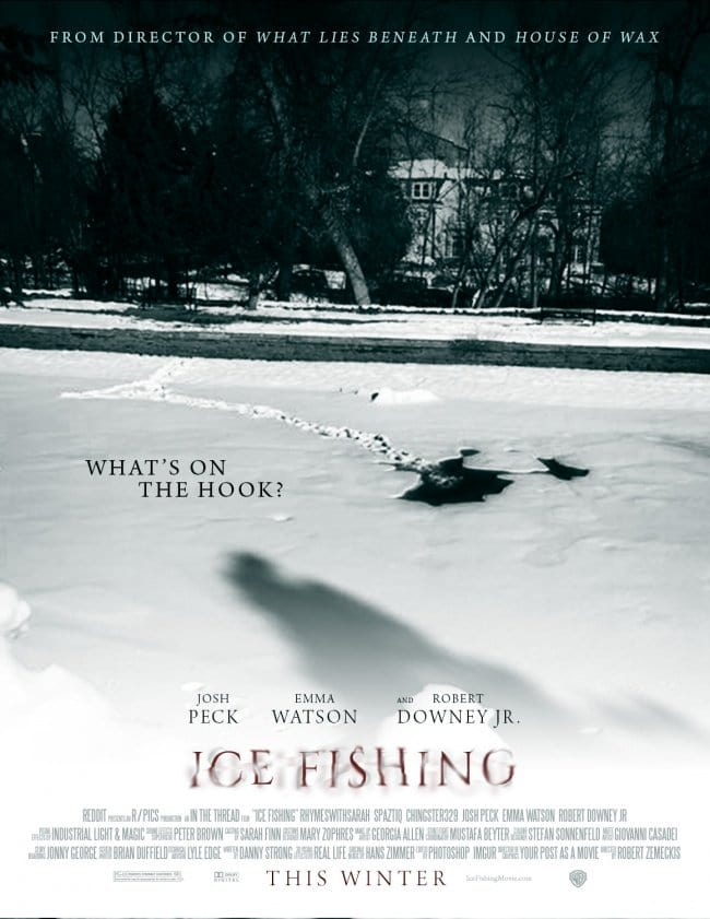 ice fishing poster