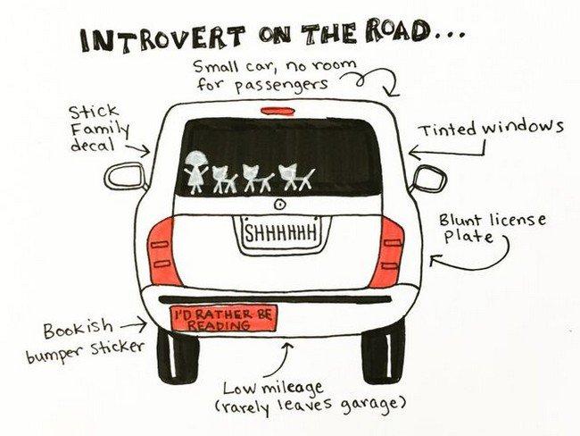 introvert car