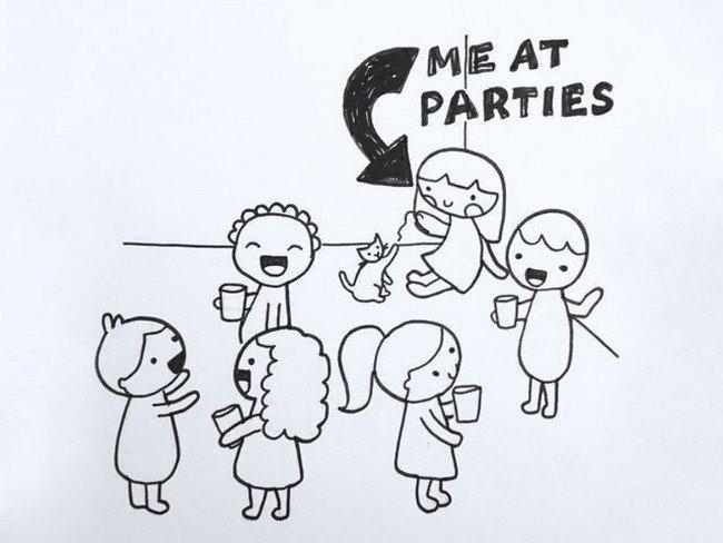 introvert parties