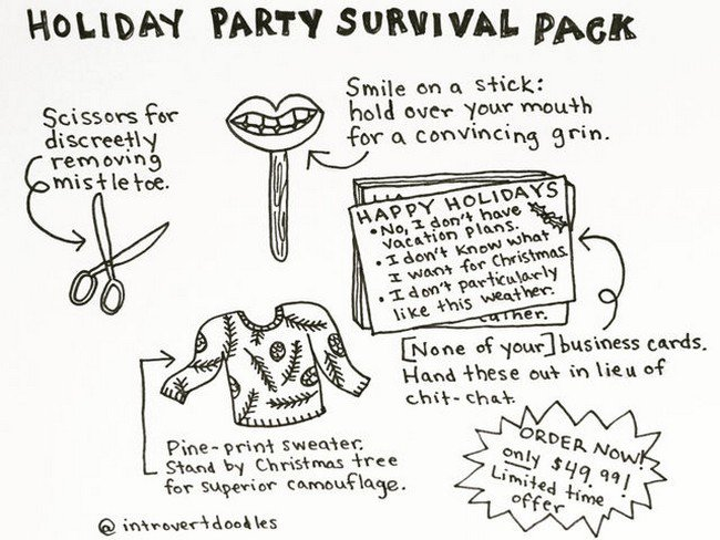 introvert survival pack