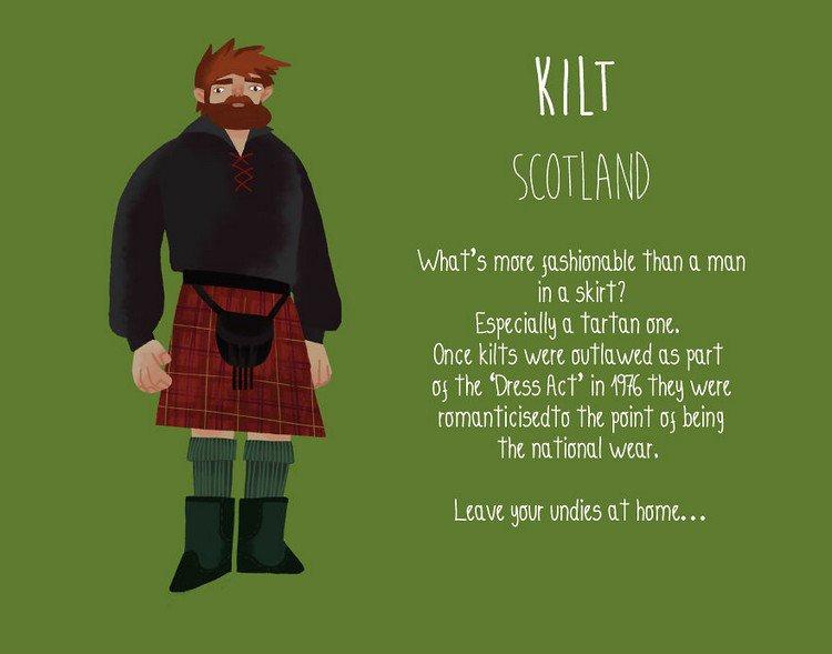 kilt scotland