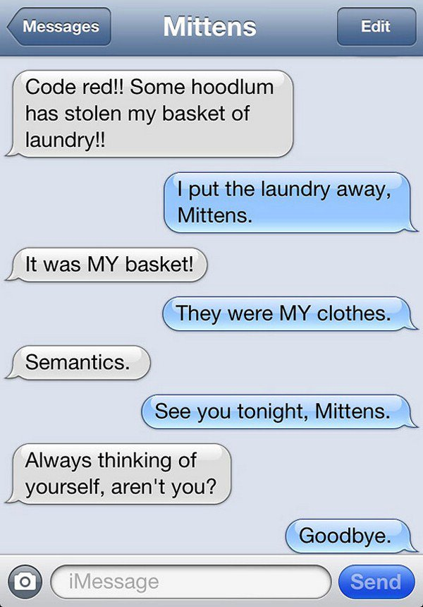 laundry basket text