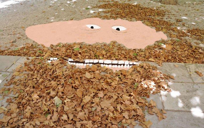 leaf beard