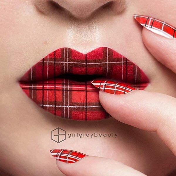 lip-art-tartan