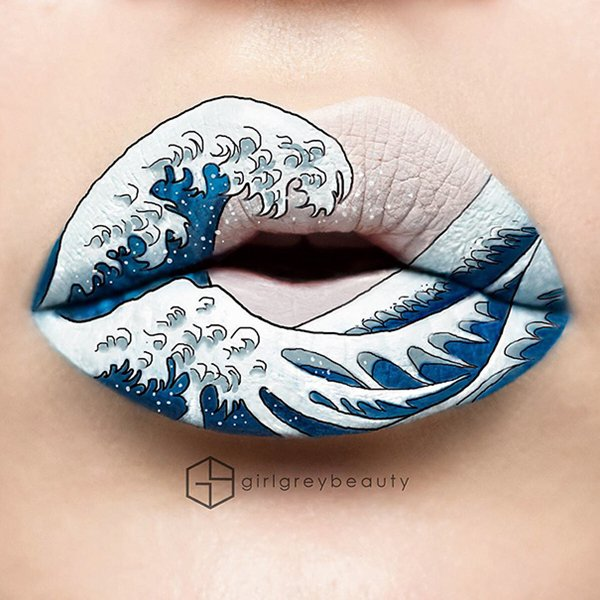 lip-art-waves