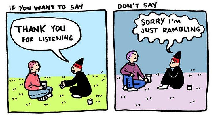listening rambling