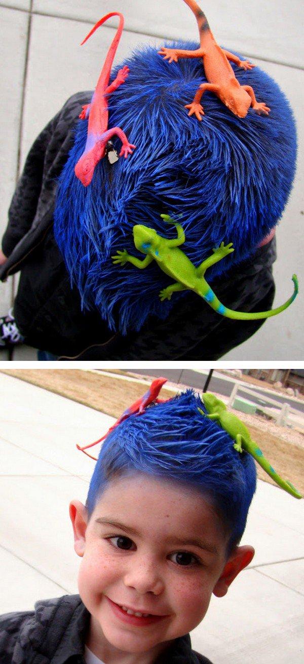 lizard hair