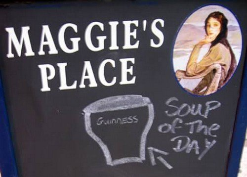 maggies place sign