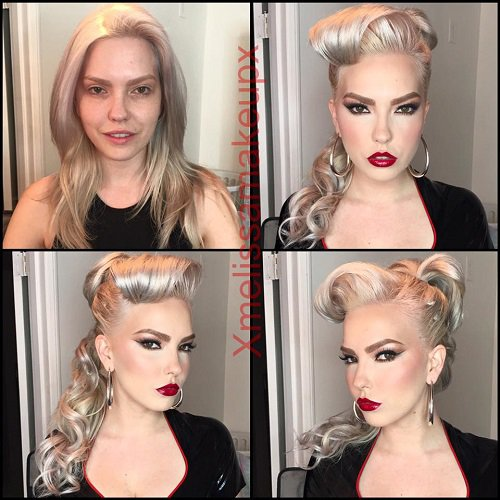 Before And After Photos That Show The Power Of Makeup - Before and after makeup photos