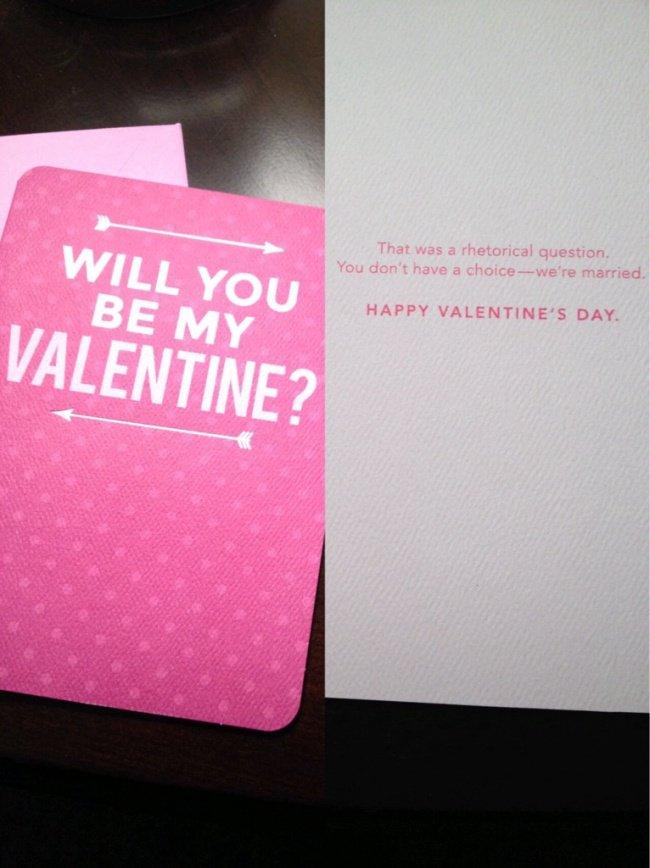 married valentine