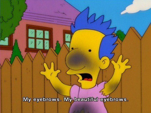 millhouse moments brows showing media & posts for funny milhouse quotes www picofunny com,Everythings Coming Up Milhouse Meme