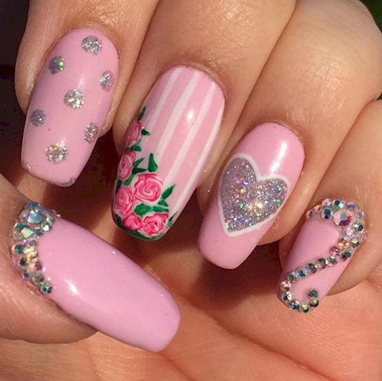 nails-diamonds