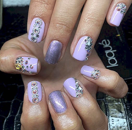 nails-lavender