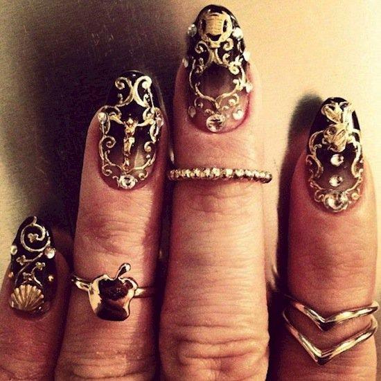 nails-rings