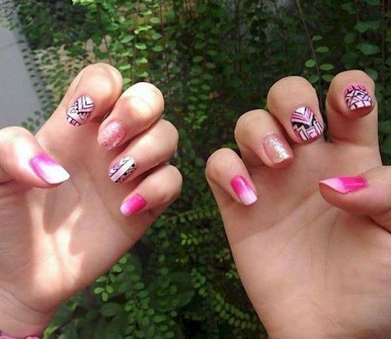 nails-shading