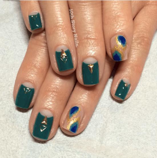 nails-teal