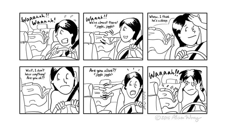 new-mom-comics-car