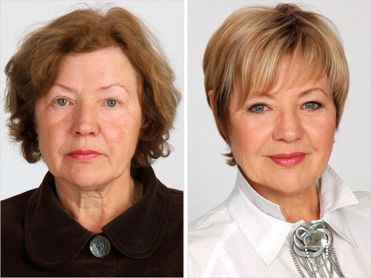 older makeover