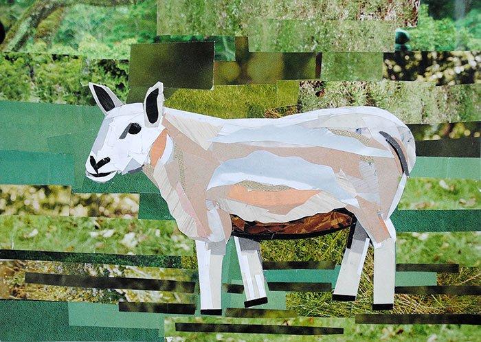 paper sheep