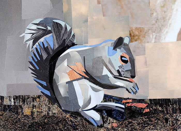 paper squirrel