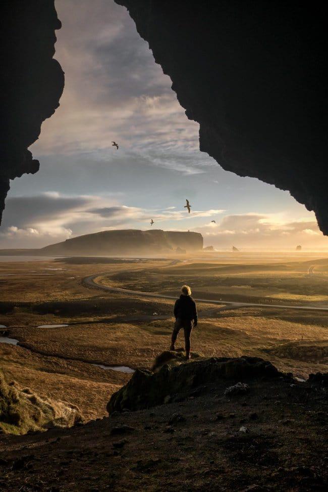 person landscape