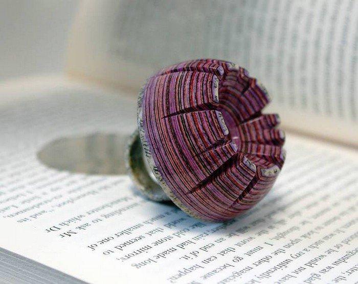 pink book ring