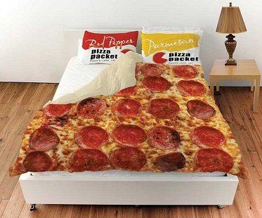 pizza bedding set