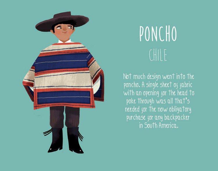 poncho chile