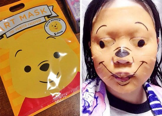 pooh-face-mask scary fail