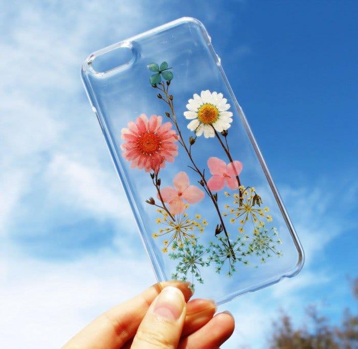 pretty flower phone case