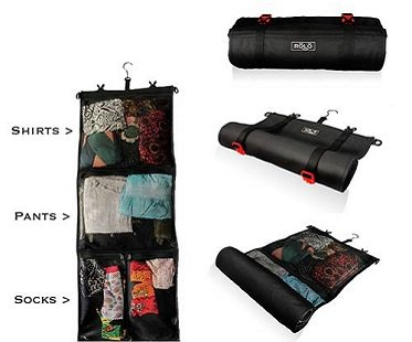 roll-up travel bag clothes