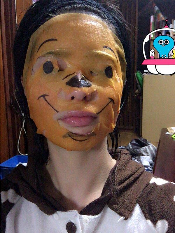 scary winnie mask