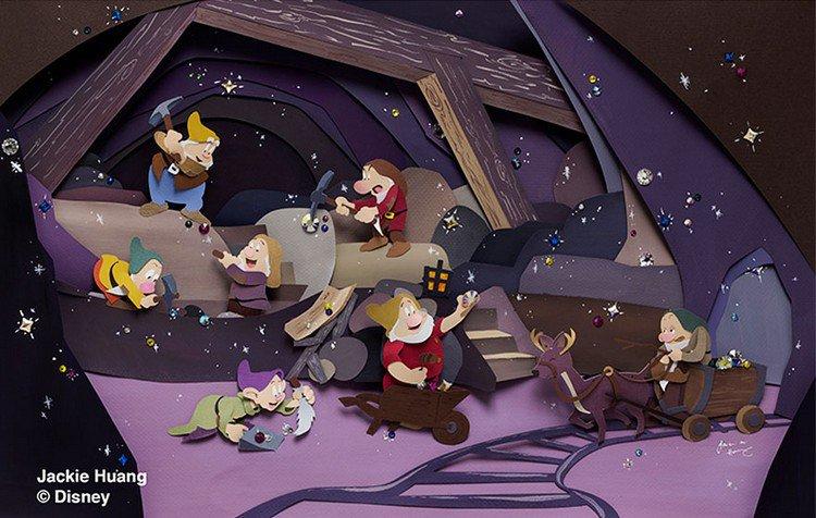 seven dwarves paper