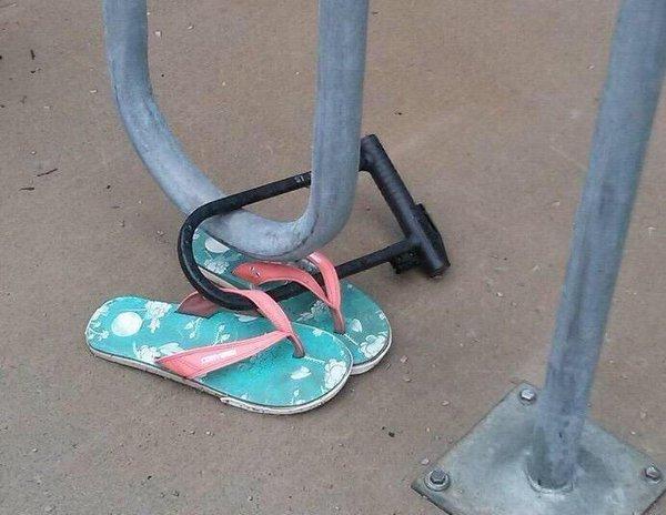 shoe lock