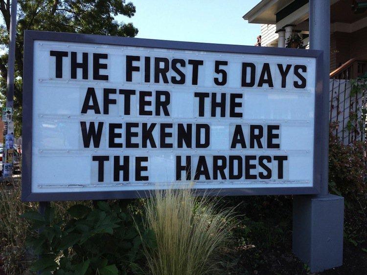 sign-weekend
