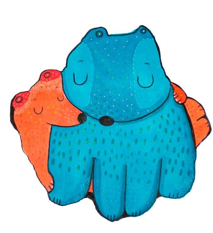snuggly animals