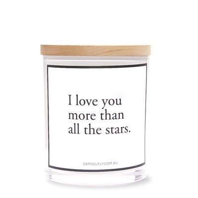 stars candle