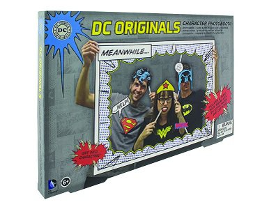 superhero photobooth box
