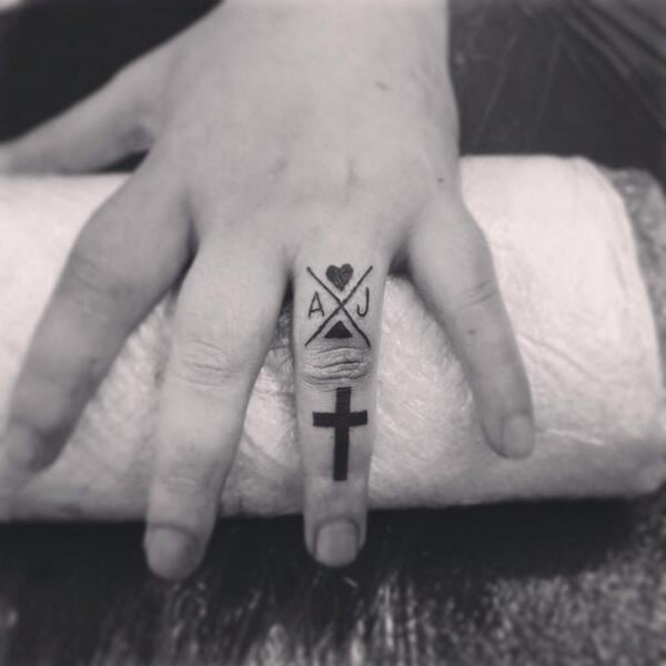 symbols tattoo ring