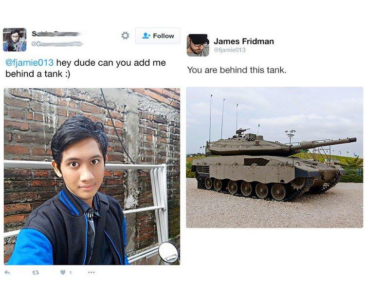 tank guy