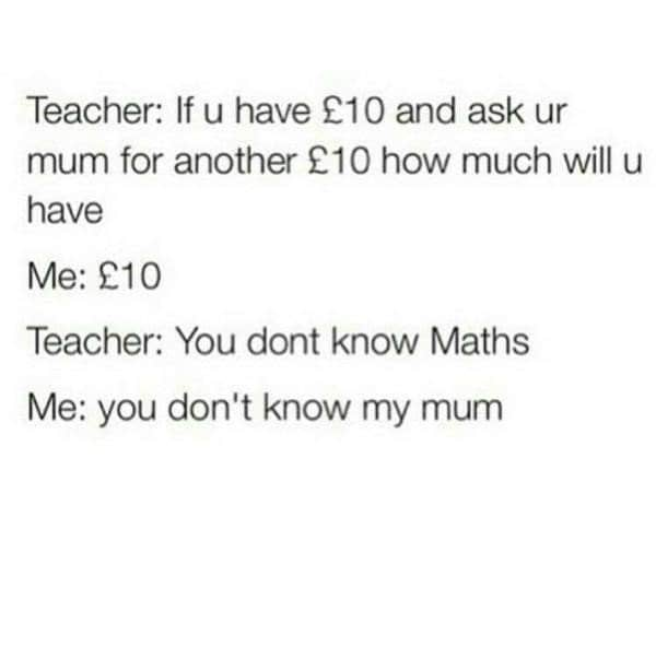 teacher math