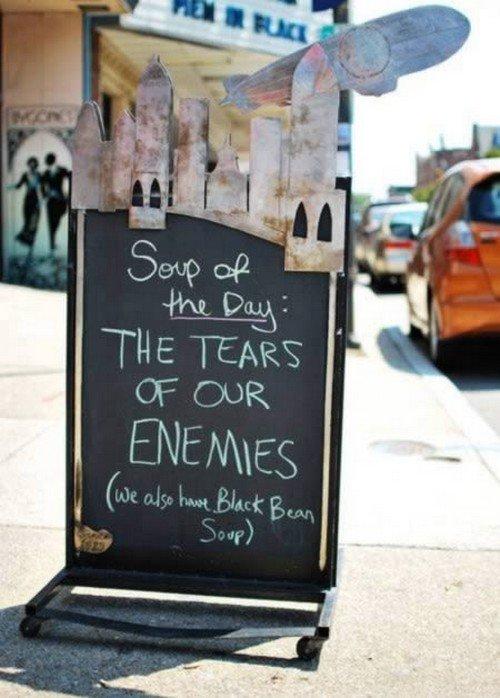 tears soup